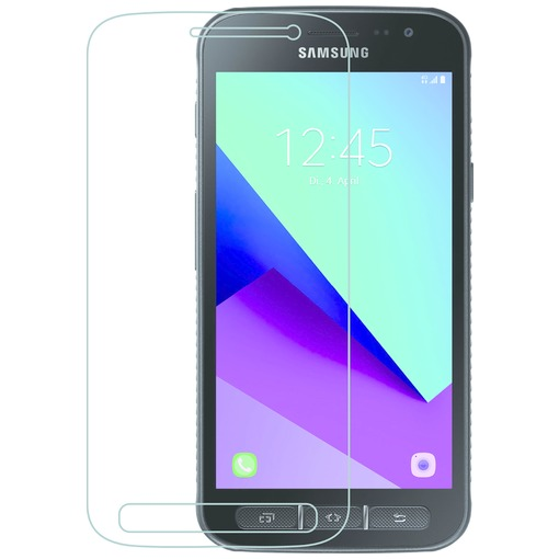 Azuri Screen Protector Tempered Glass flatt - voor Samsung Xcover 4