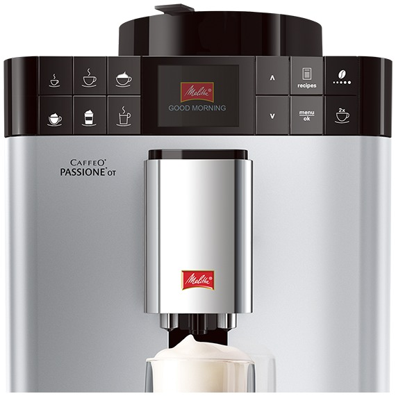 Melitta Caffeo Passione One Touch zilver