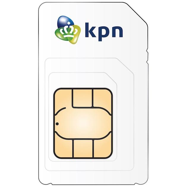 KPN SIM-kaart prepaid 10,- en 1GB