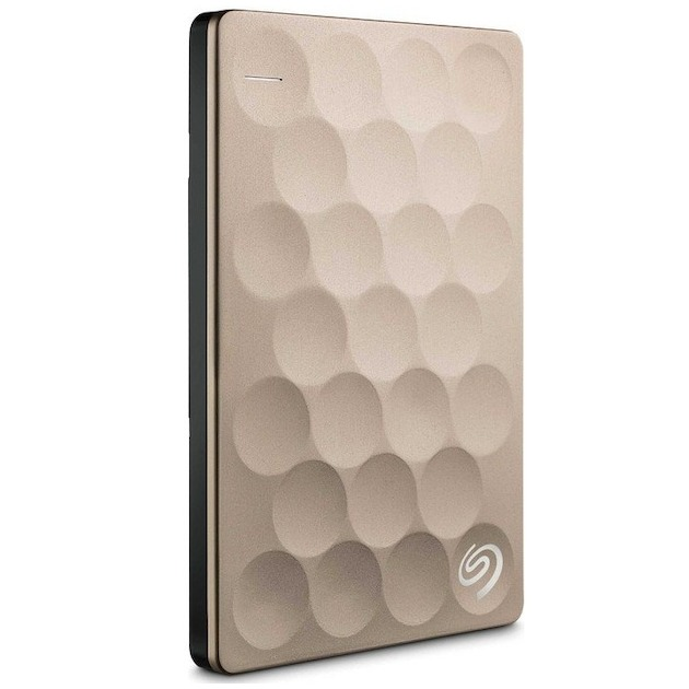 Seagate BackupPlus Portable Ultra Slim 2TB goud