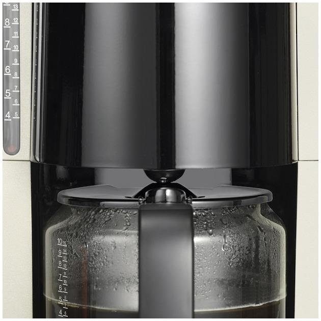 Severin KA4157 titanium/zwart