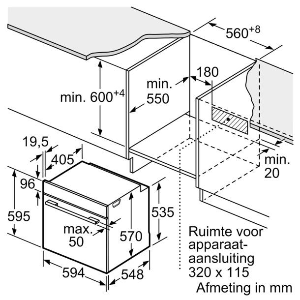 Bosch HBA556BS0