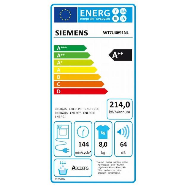 Siemens WT7U4691NL