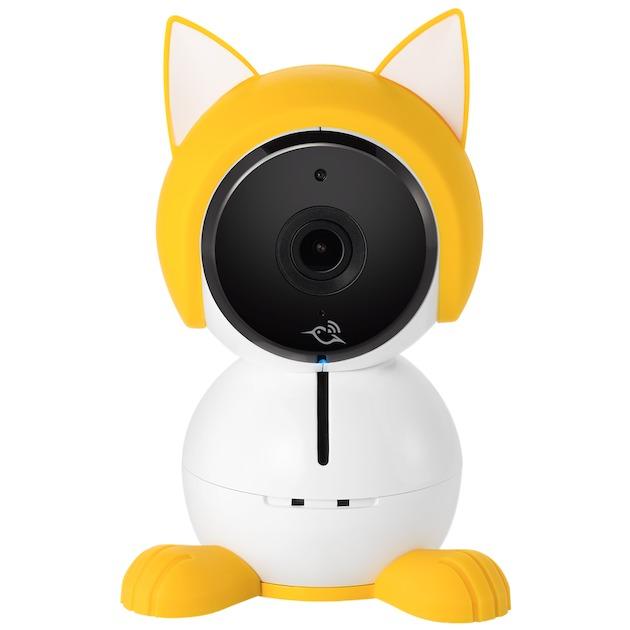 Arlo Baby Kitten Character (Accessoire) wit/geel
