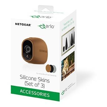 Arlo Silicone Skin Pack 3-pack (Bruin, Zwart en Grijs) bruin, zwart, grijs