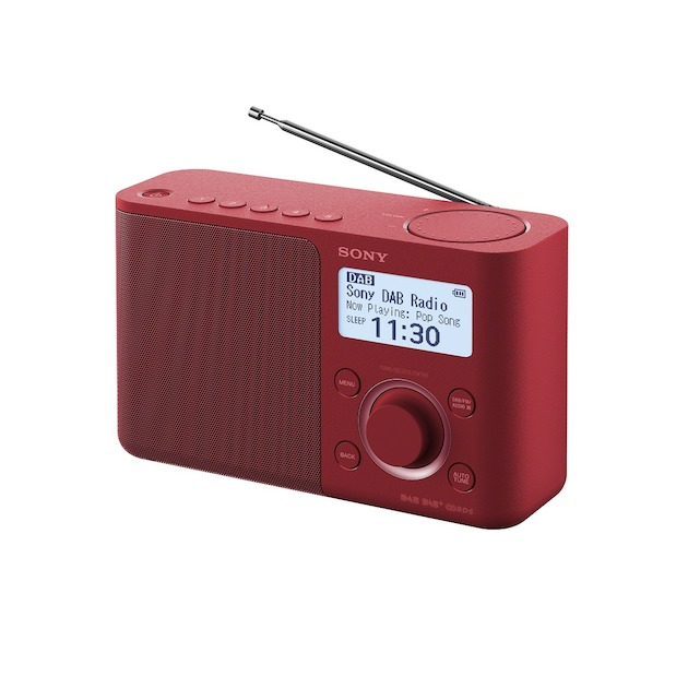 Sony XDR-S61D rood