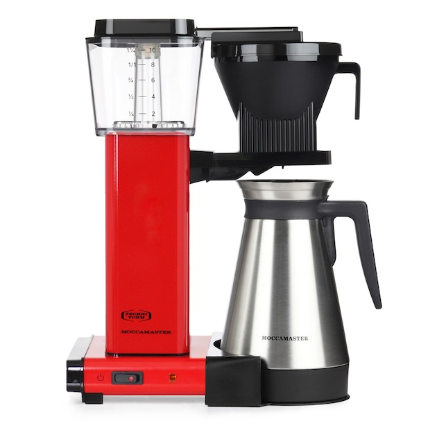 Moccamaster KBG Thermos rood