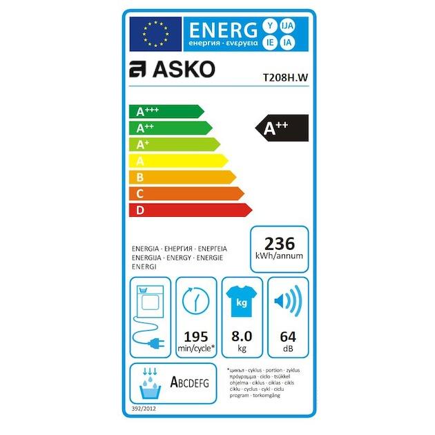 Asko T208H.W