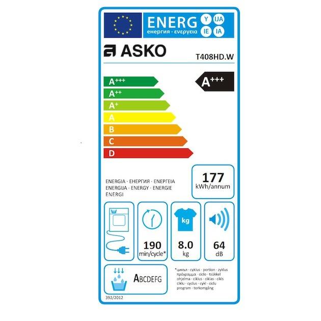 Asko T408HD.W