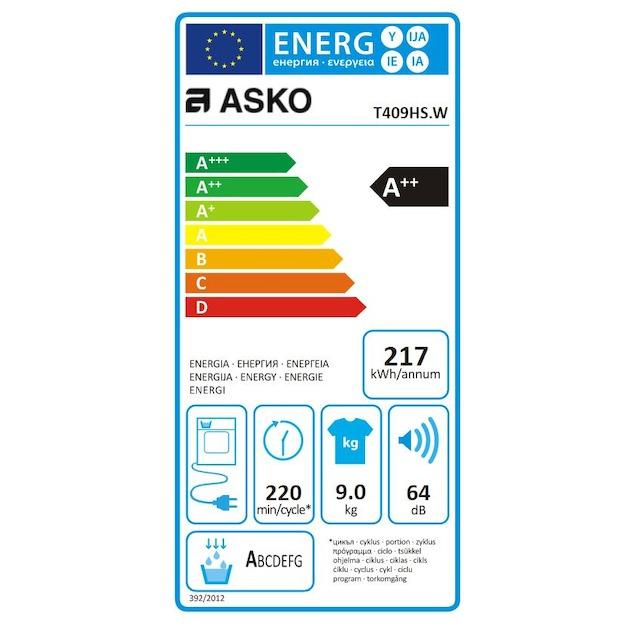 Asko T409HS.W