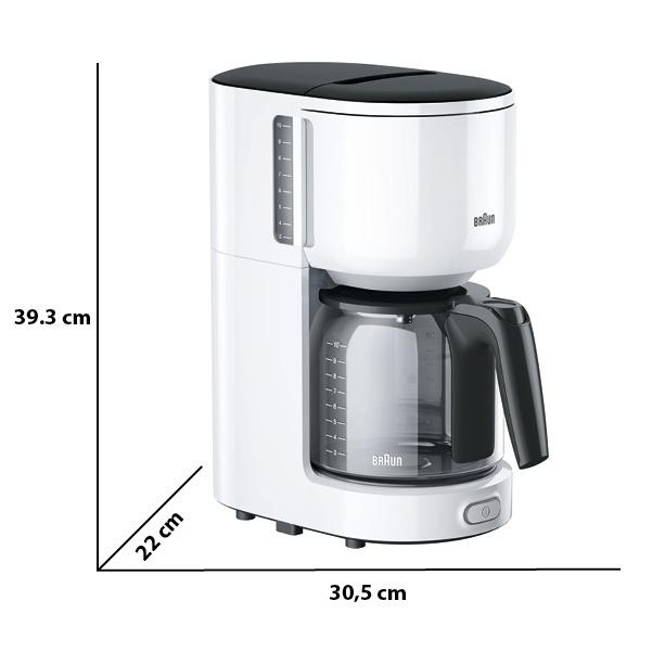 Braun KF3120 WH wit/grijs