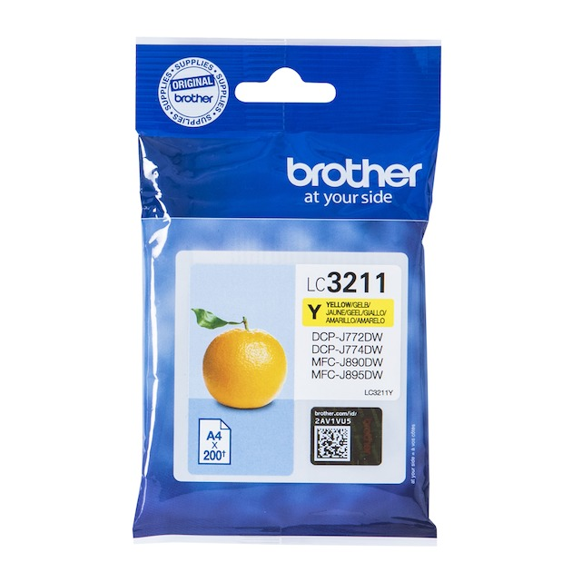 Brother LC-3211Y Geel