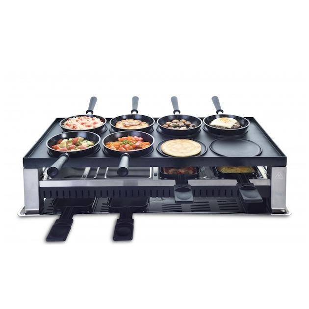 Solis 791 Table Grill 5 in 1 Gourmet - 8 Personen