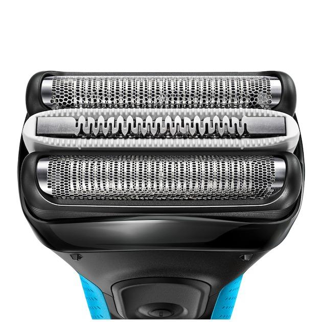 Braun Series 3 ProSkin 3045S zwart/blauw