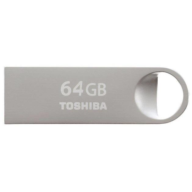 Toshiba TransMemory U401 64GB (USB 2.0) zilver