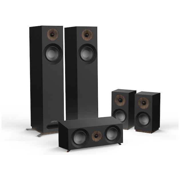 Jamo S 805 HCS /SET zwart