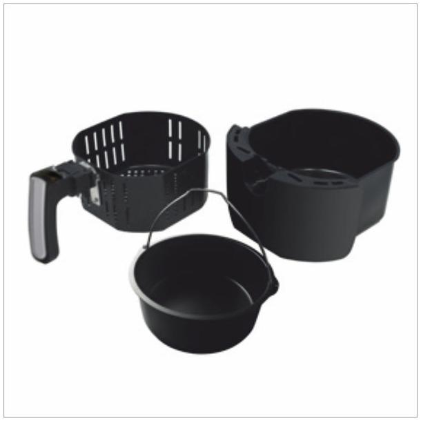 Inventum GF552HL zwart/rvs