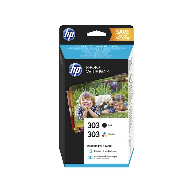 HP 303 photo zwart