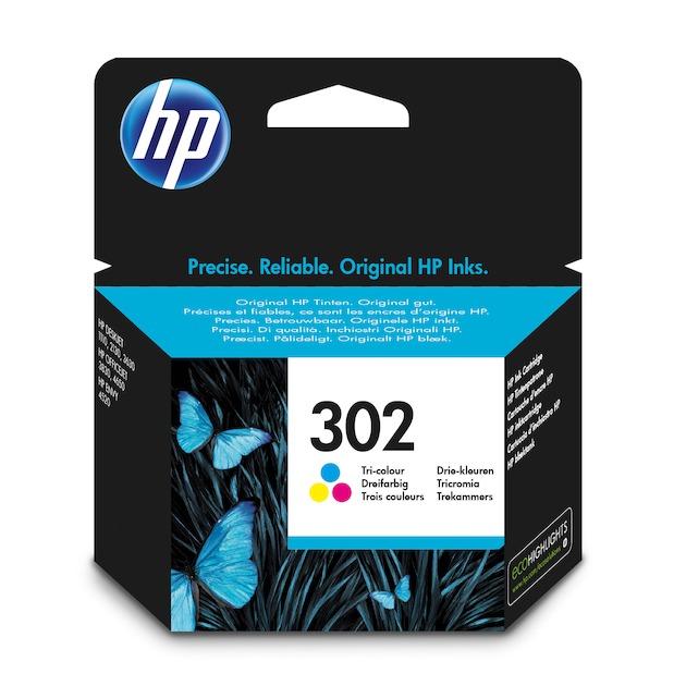 HP No 302 tri-color