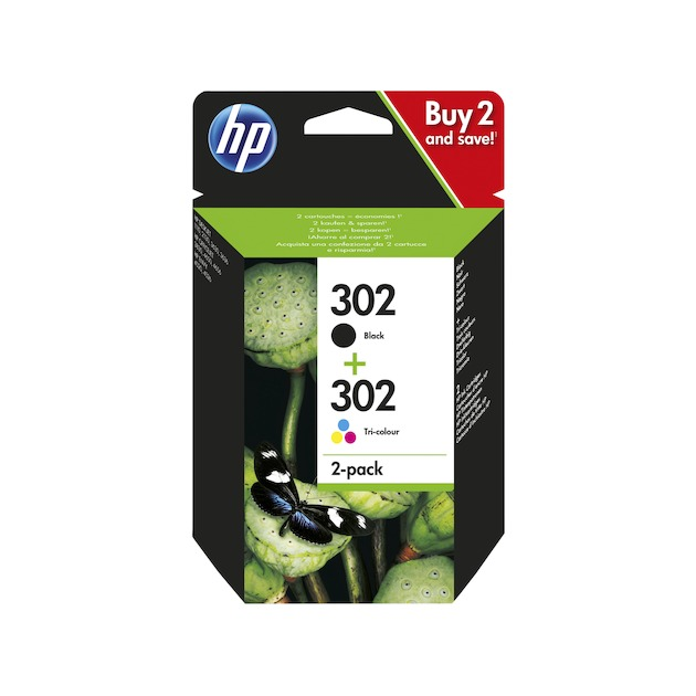 HP 302 Combo Pack