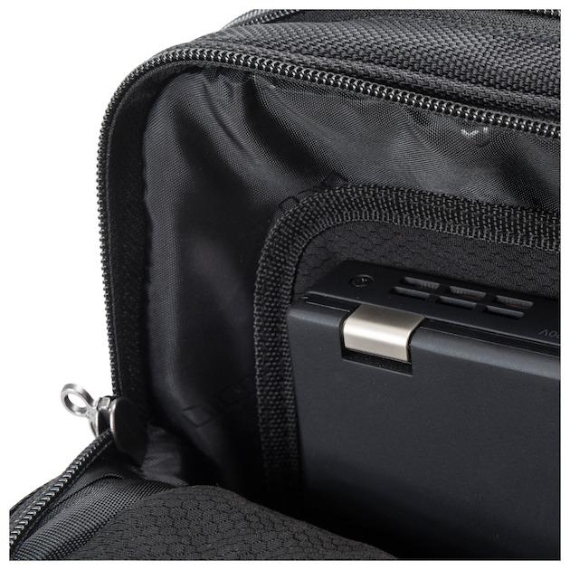 Dicota Top Traveller Roller PRO 14-15.6 zwart