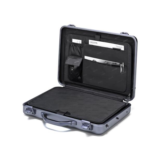 Dicota Alu Briefcase bis 43.9cm 17inch.