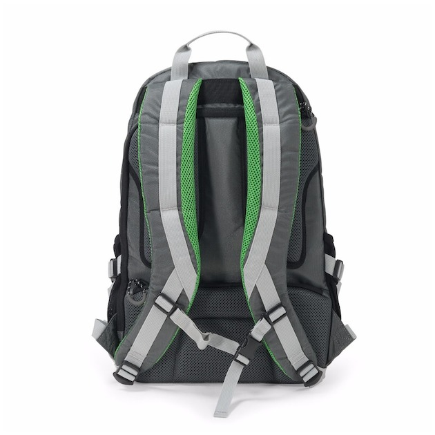 Dicota Backpack ACTIVE 14-15.6 grijs  lime