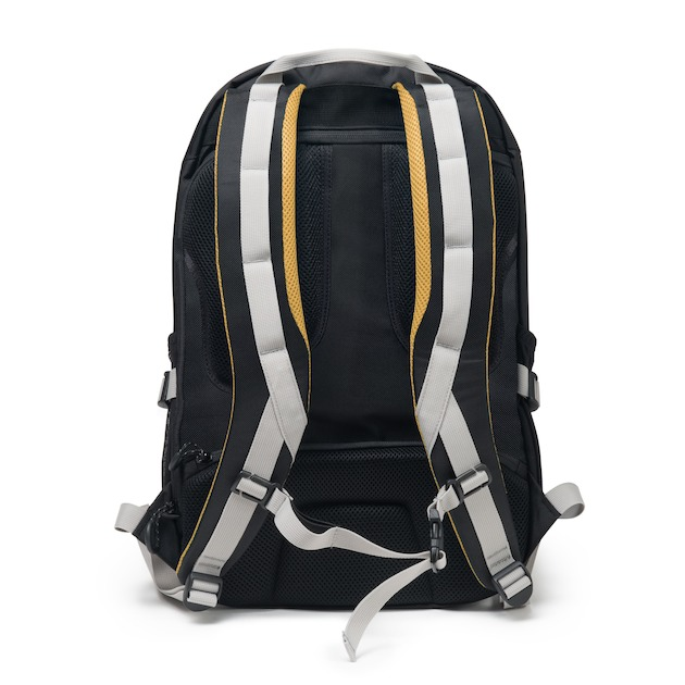 Dicota Backpack Active 14-15.6 zwart/geel