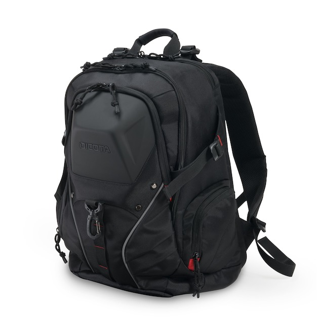 Dicota Backpack E-Sports 15-17.3 zwart