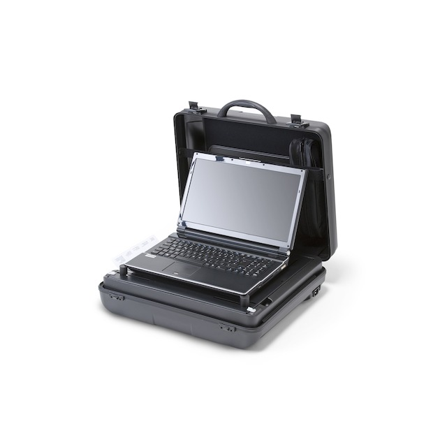 Dicota DataSmart Compact for 10 - 14 inch Notebooks and HP 100 OJ Drucker - zwart