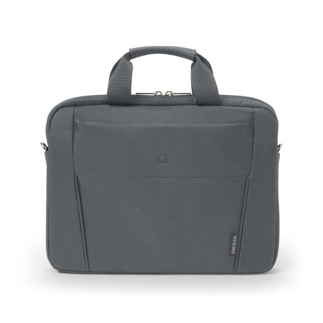 Dicota Slim Case BASE 13-14.1 grijs