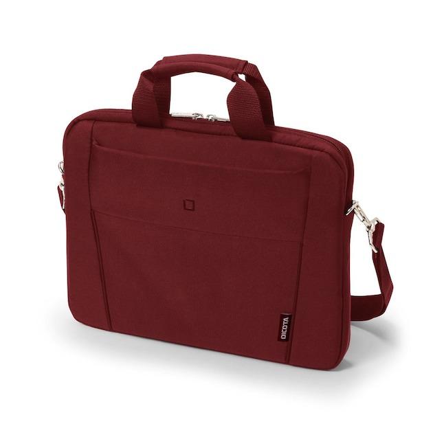 Dicota Slim Case BASE 13-14.1 rood