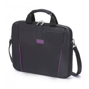 Dicota Slim Case BASE 14-15.6 zwart/paars