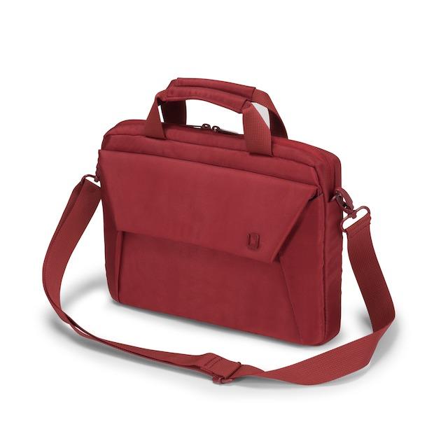 Dicota Slim Case EDGE 10-11.6 rood