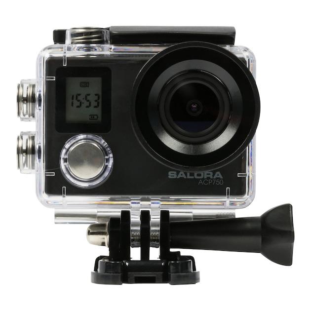 Salora ACP750 Ultra HD (4K) Actioncam  zwart