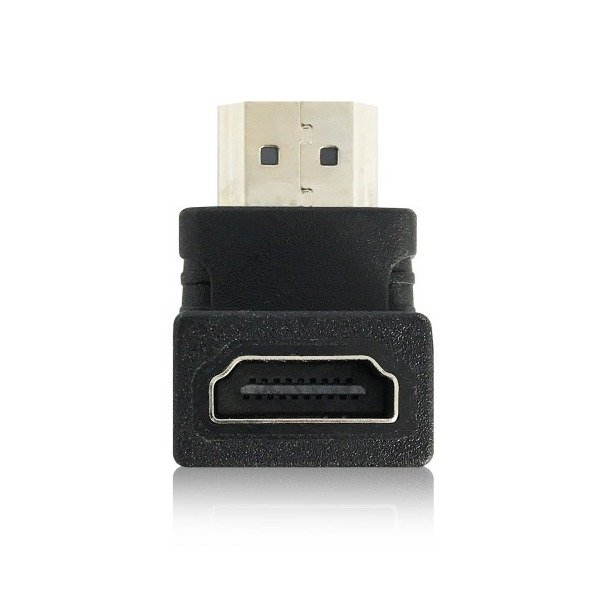 Ewent Adapter HDMI A male - HDMI A female, down angled