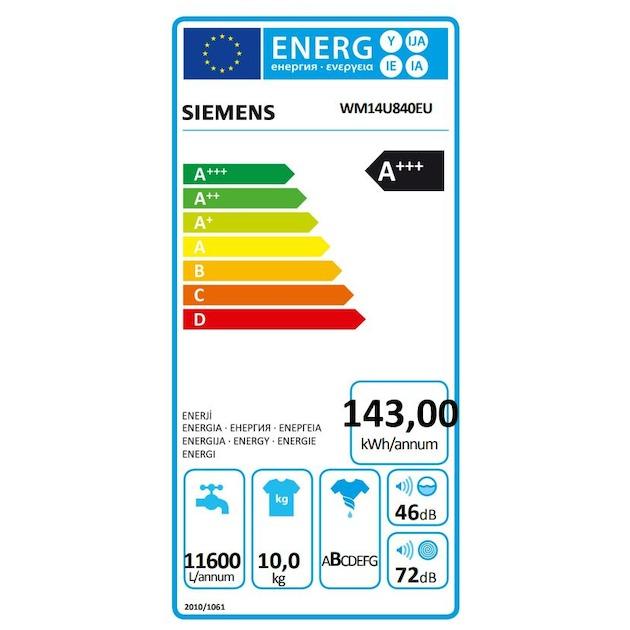 Siemens WM14U840EU