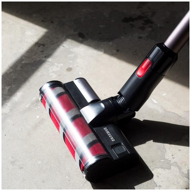 Samsung VS80N8016K2/EN POWERstick PRO metaal zilver