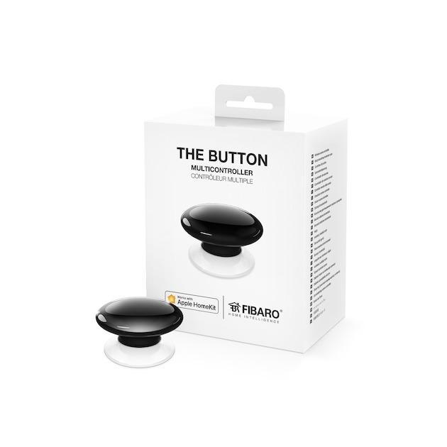 Fibaro The Button (Apple HomeKit) zwart