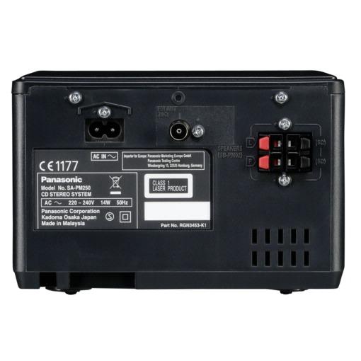 Panasonic SC-PM250EG-K zwart