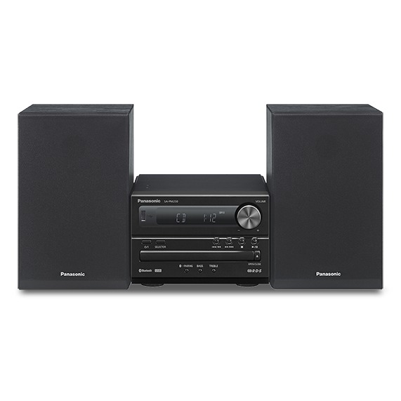 Panasonic SC-PM254EG-K zwart