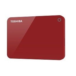 Toshiba Canvio Advance 2TB rood