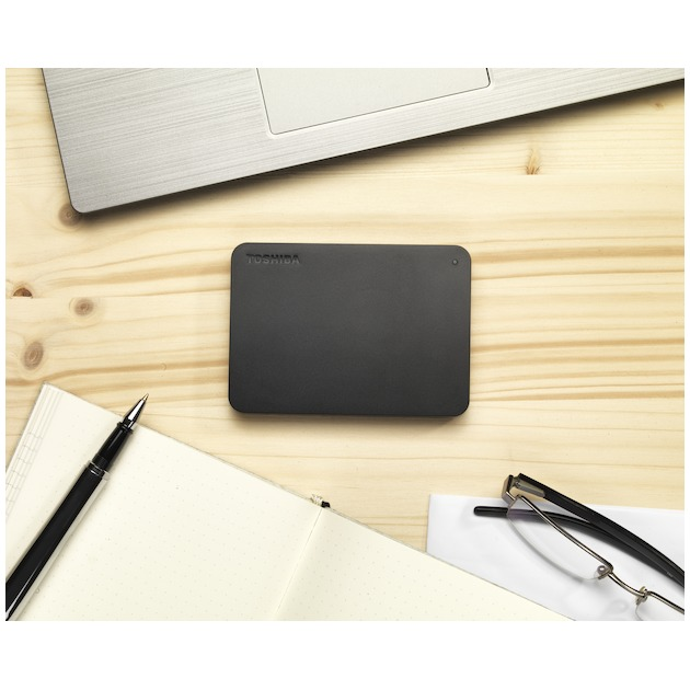 Toshiba Canvio Basics 1TB zwart