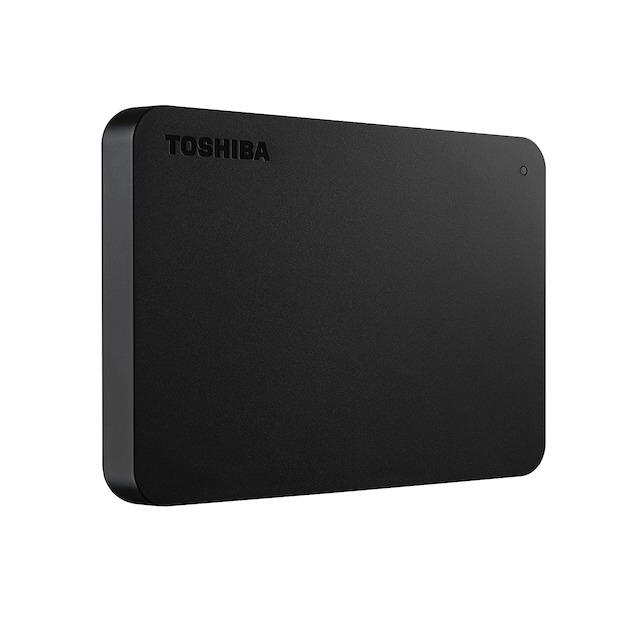 Toshiba Canvio Basics 500GB zwart