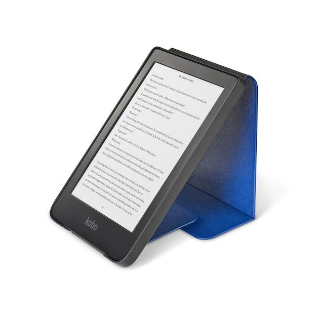 Kobo Clara HD sleepcover case blauw