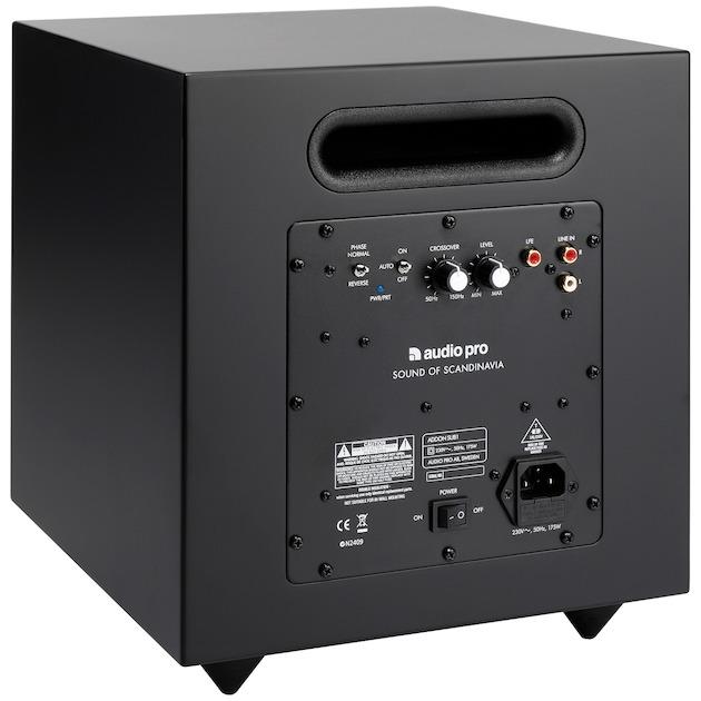 Audio Pro Addon SUB zwart