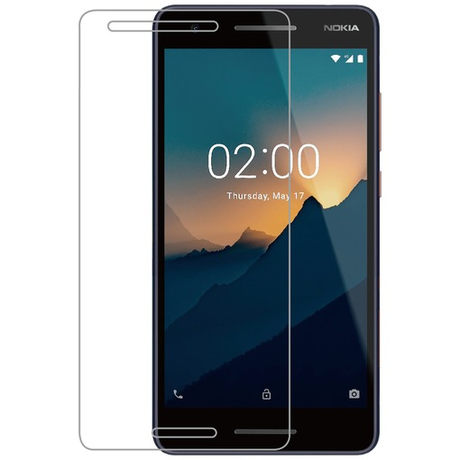Azuri Tempered Glass flat RINOX ARMOR Nokia 2 (2018) transparant