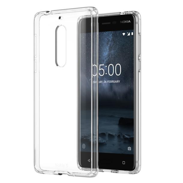 Nokia Back case - voor 5.1 transparant