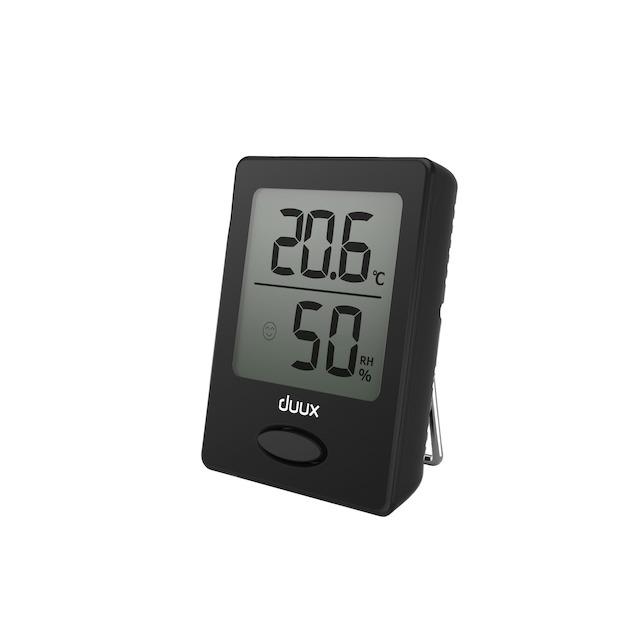 Duux Sense thermometer + hygrometer zwart
