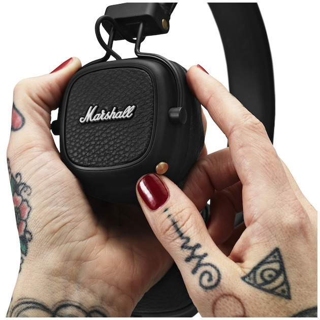 Marshall Major III Bluetooth zwart